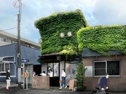厚木のガレージカフェ