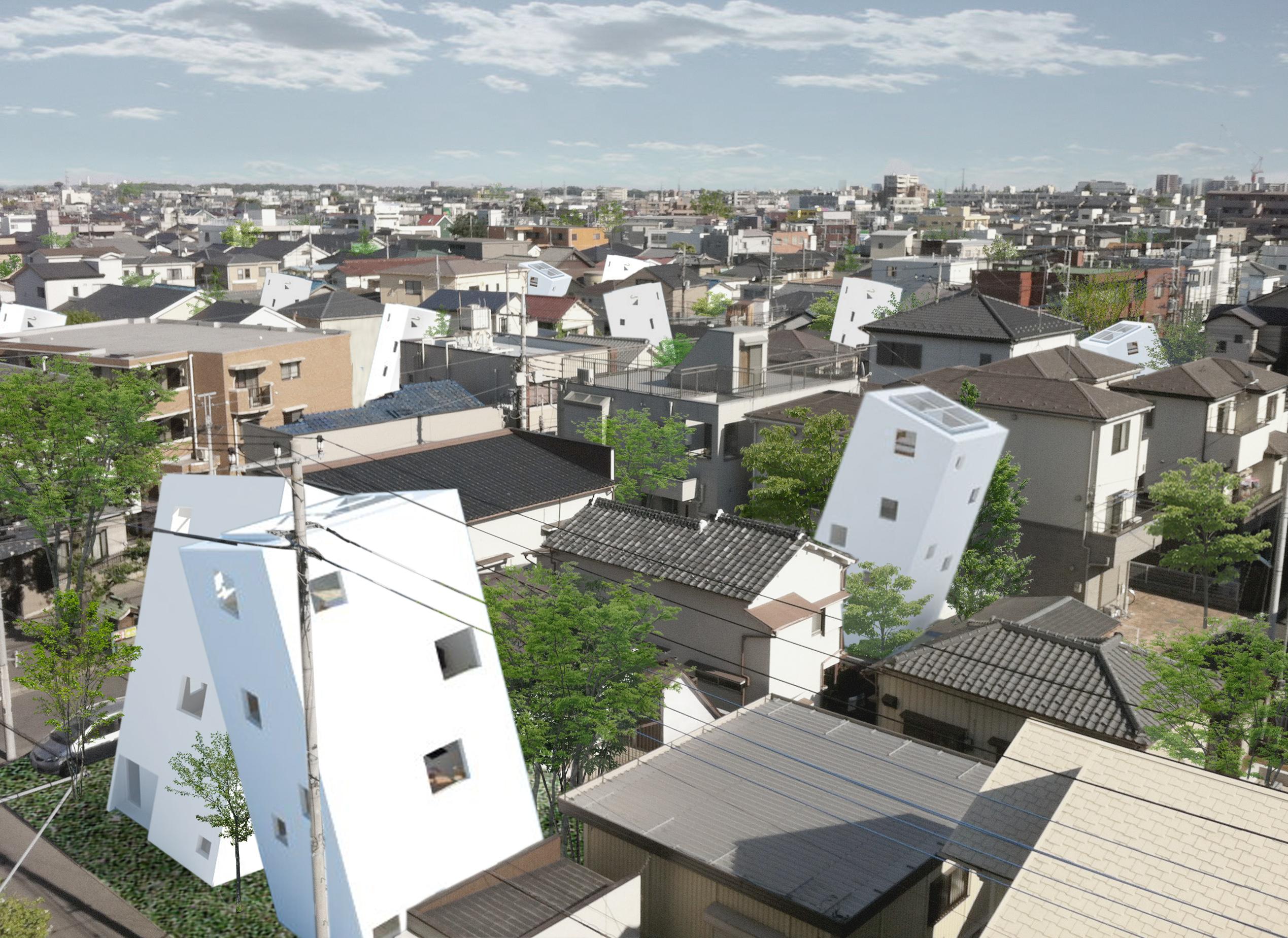 楽しい街並み 日本 Att アトリエトート