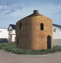 煙突のある家 まるっこい家 かわいい 東京 川崎 横浜 注文住宅 木の家