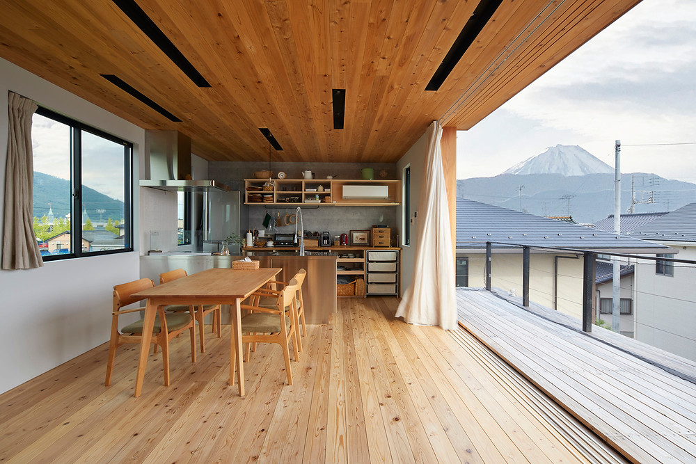 house in Kofu tote Architects