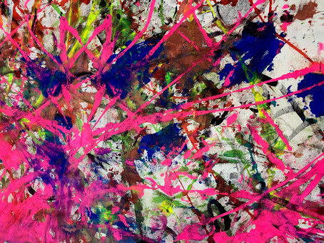 Paint your own abstract painting.
