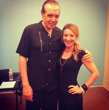 In class with Chazz Palminteri