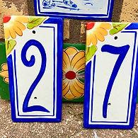 Sunflower number tiles