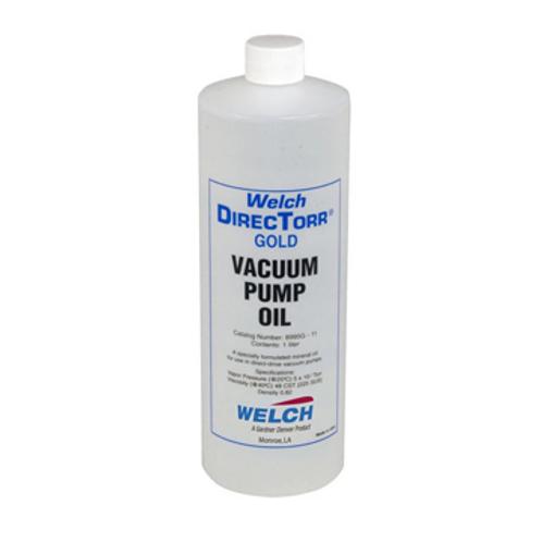 """Welch """"DirecTorr"""" Gold Vacuum Pump Oil - 1 Liter"""