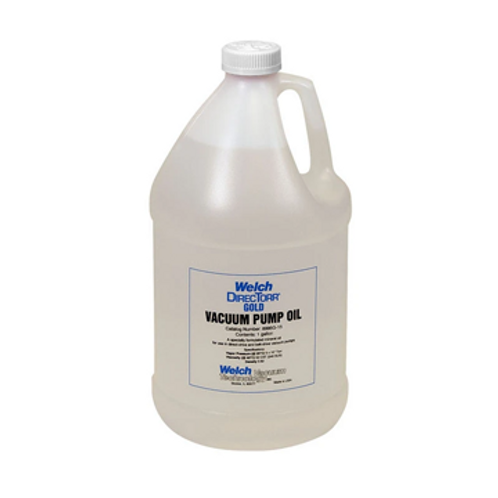 "Welch ""DirecTorr"" Gold Vacuum Pump Oil - 1 Gallon"