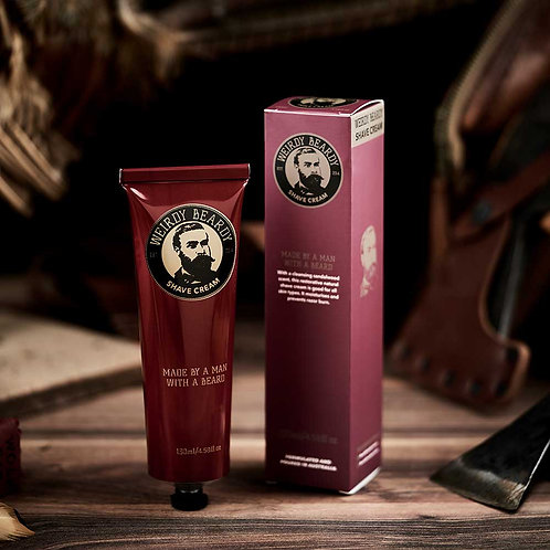 Weirdy Beardy Shaving Cream 130ml