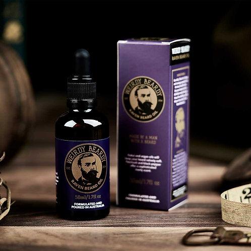 Weirdy Beardy Raven Beard Oil 50ml