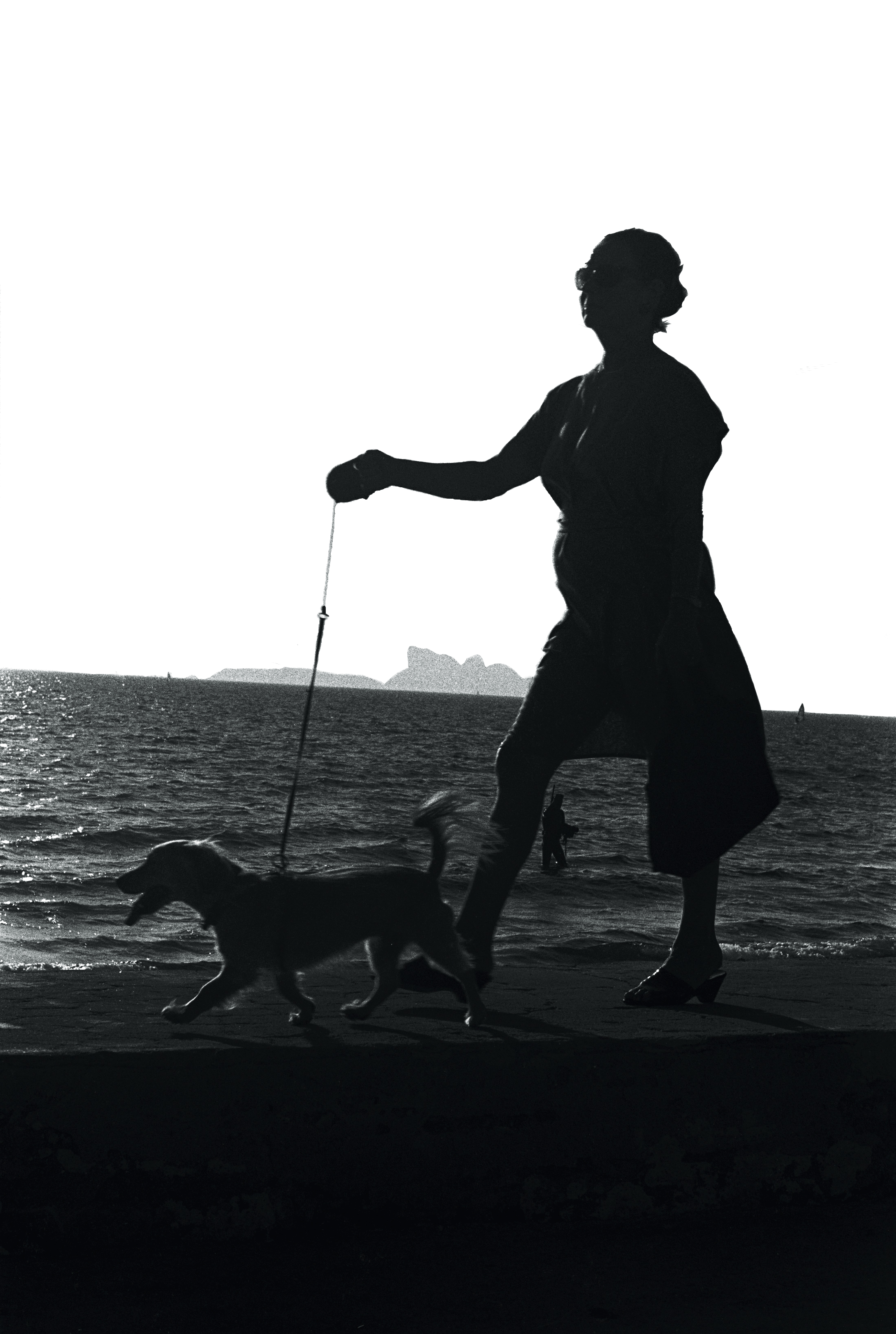 Dame au chien