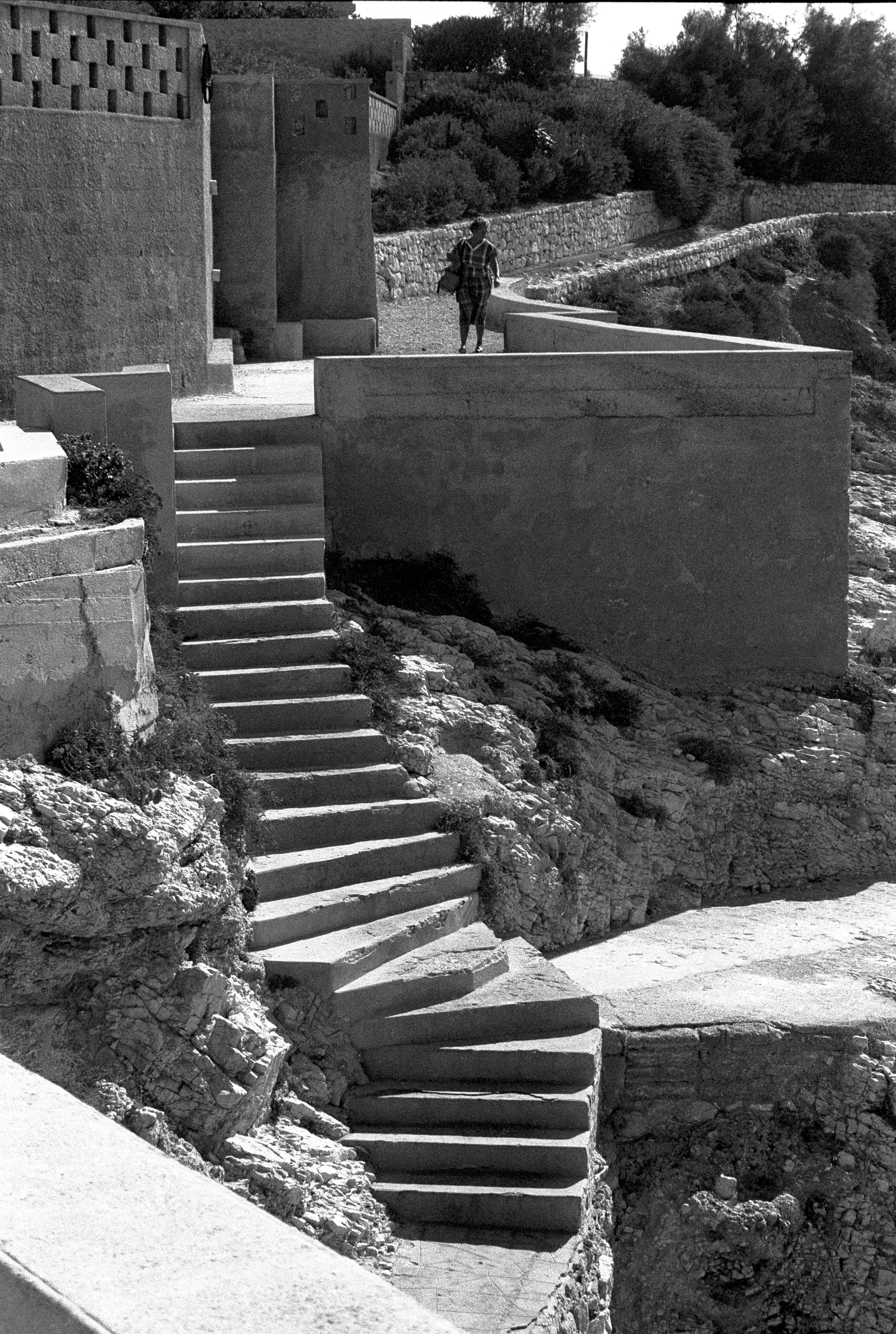 L'escalier de Malmousque