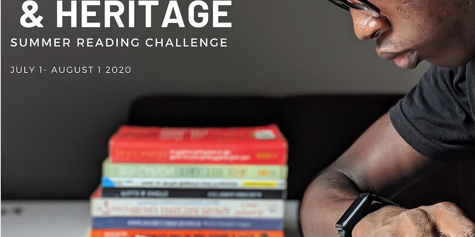 Culture & Heritage Summer Reading Challenge