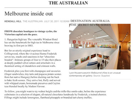 The Australian - Melbourne inside out