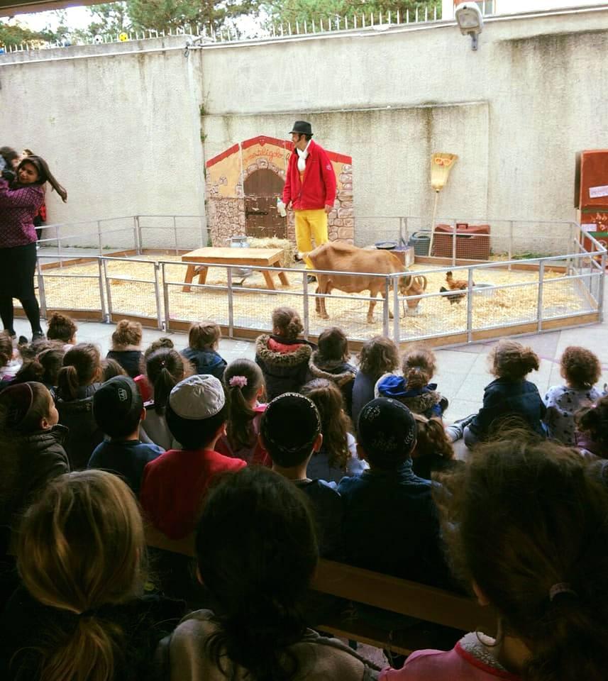 Des animaux à l'école Chné-or