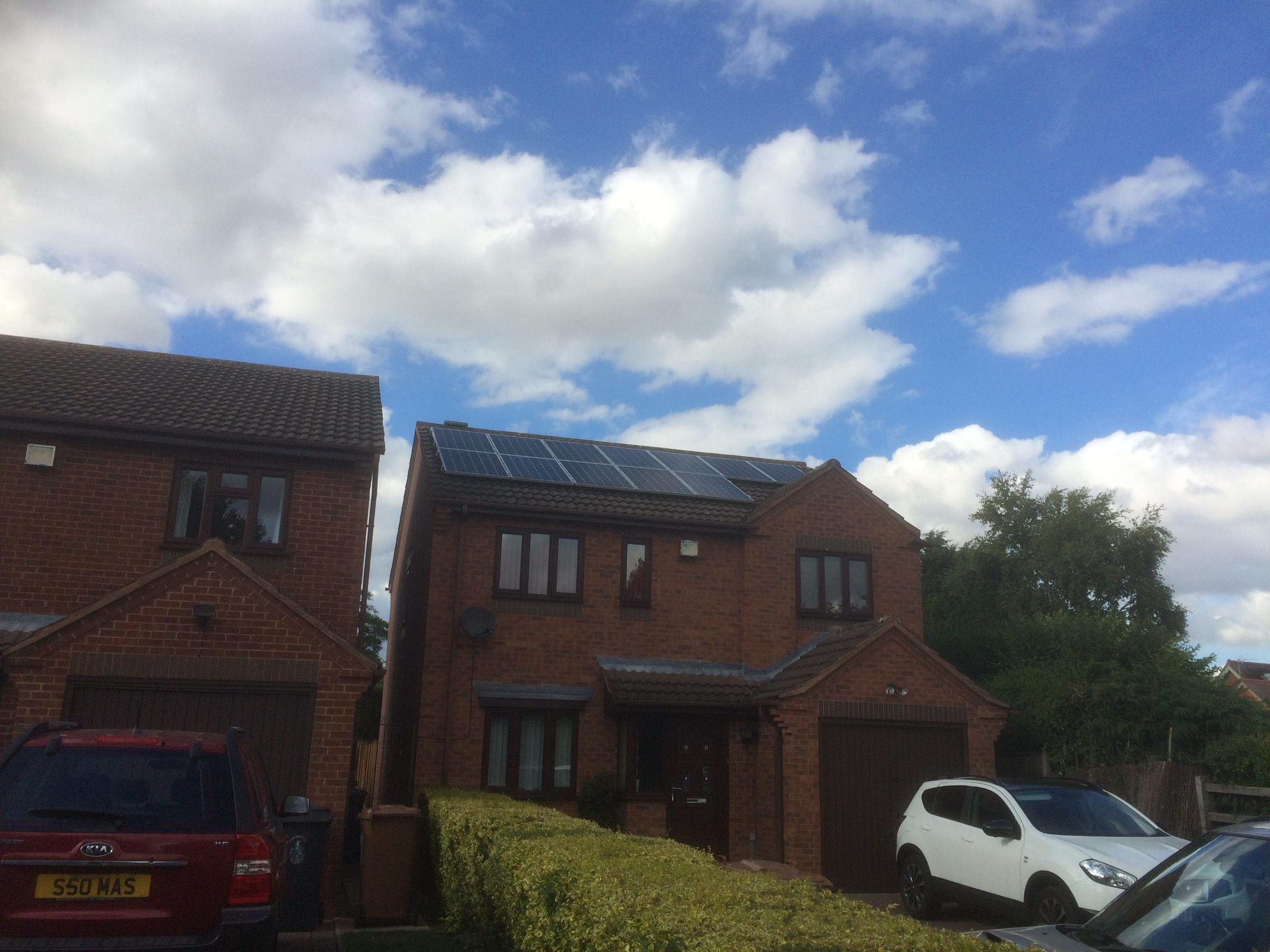 Pigeons under your Solar panels