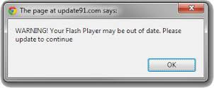 Beware of fake Flash and Video Player update scams.