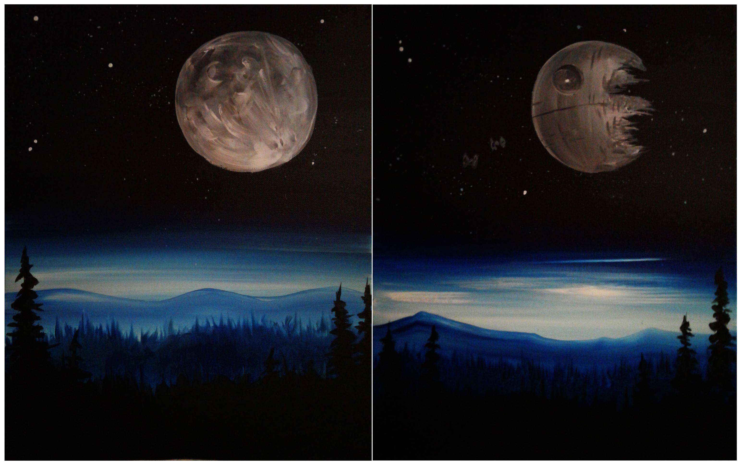 Full Moon Death Star
