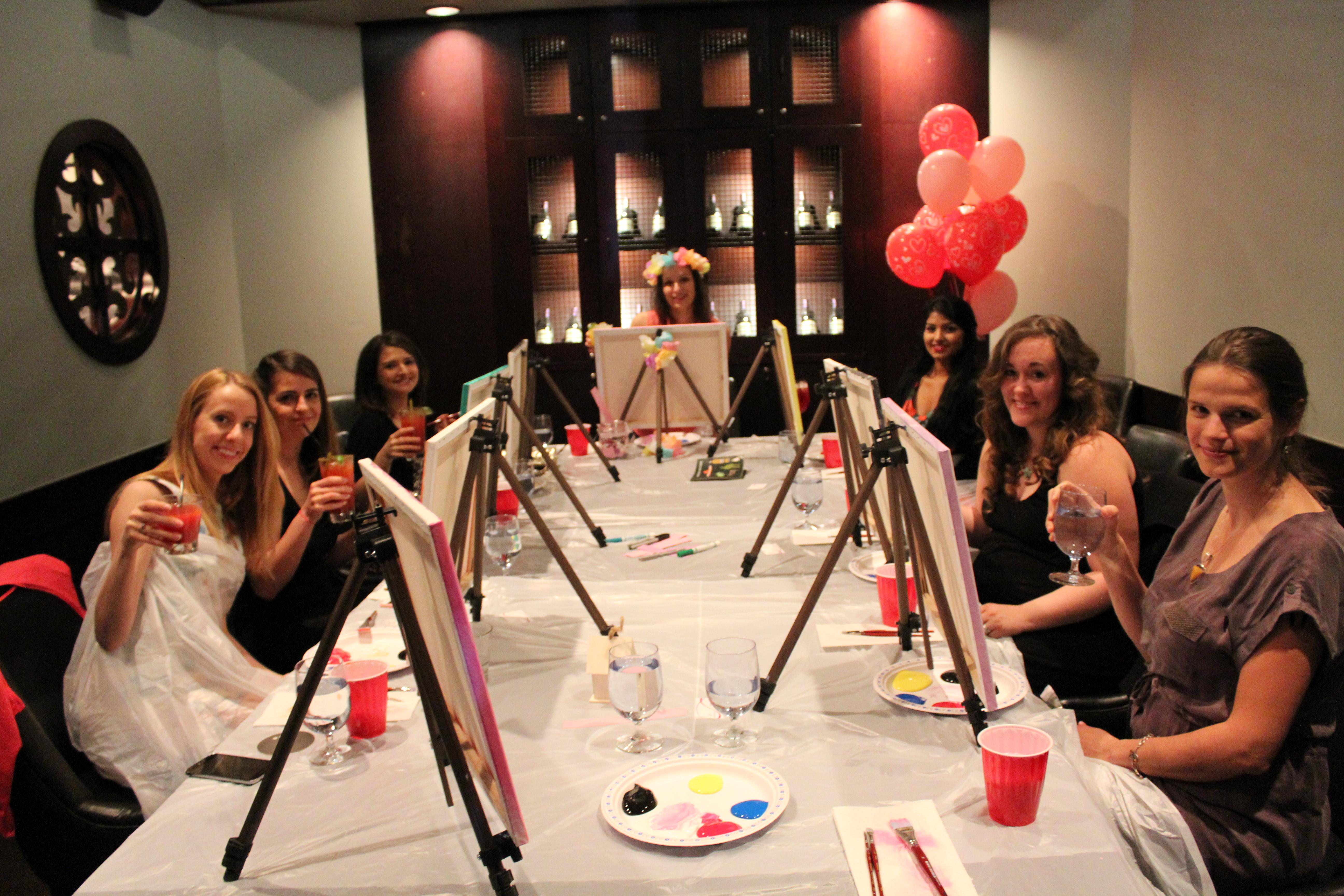 paint party edmonton