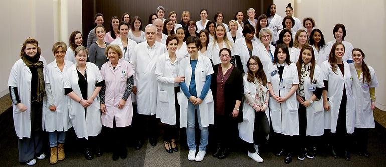 Equipe du service de Gynécologie-Obstétrique et Médecine de la Reproduction de l'Hôpital Foch
