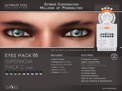 Ultimate Eyes Pack - EY03C Supernova Pack C