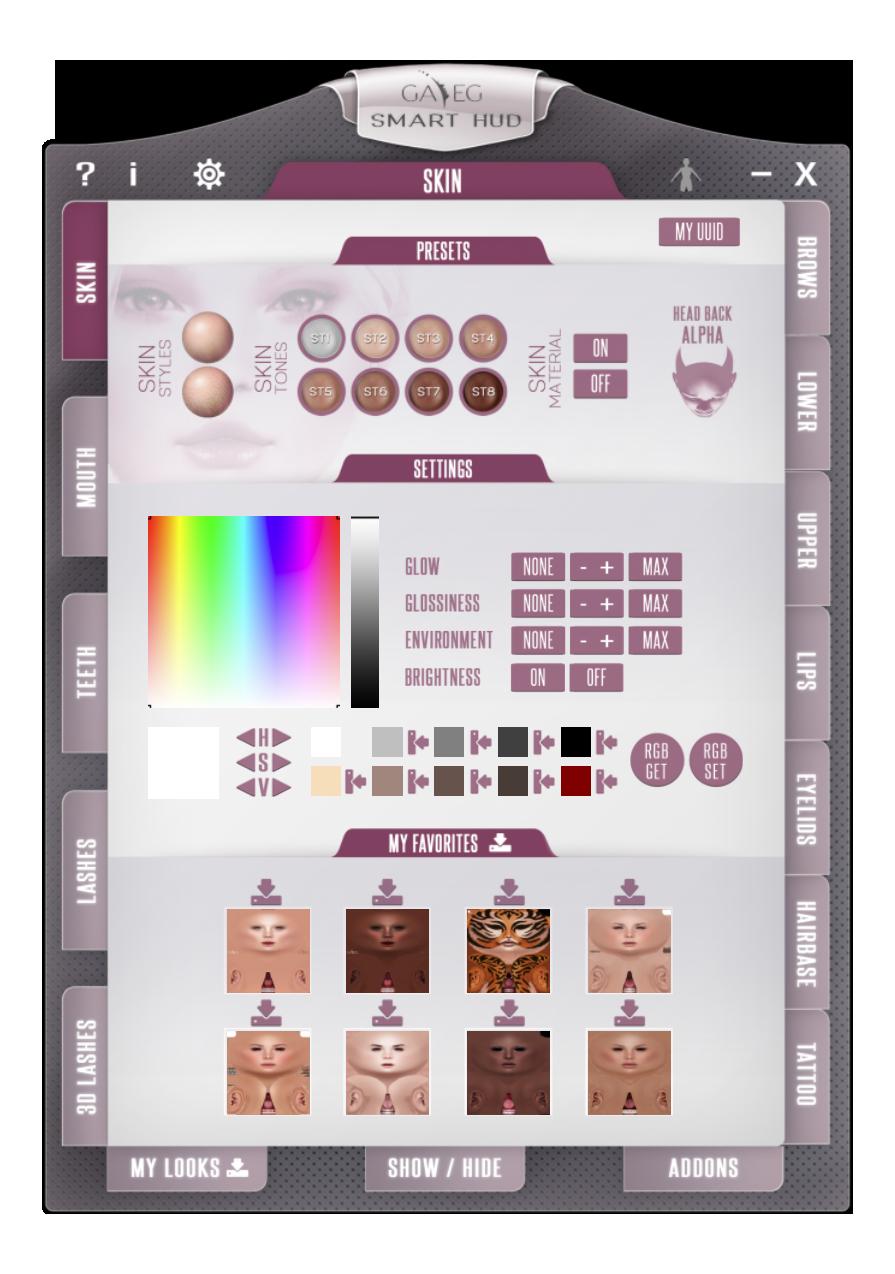 Smart HUD V2 - Skins Tab