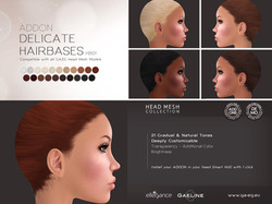 Delicate Hairbases ADDON