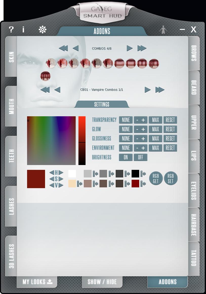 Smart HUD V2 - Addons Tab