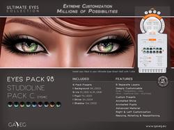 Ultimate Eyes Pack - EY04C StudioLine Pack C