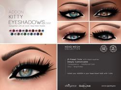 Kitty Eyeshadows ADDON