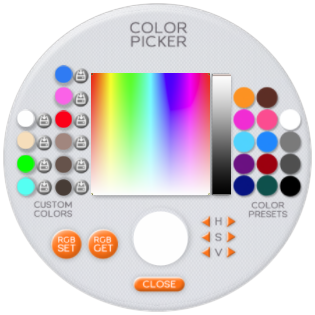 EYES HUD COLOR PICKER