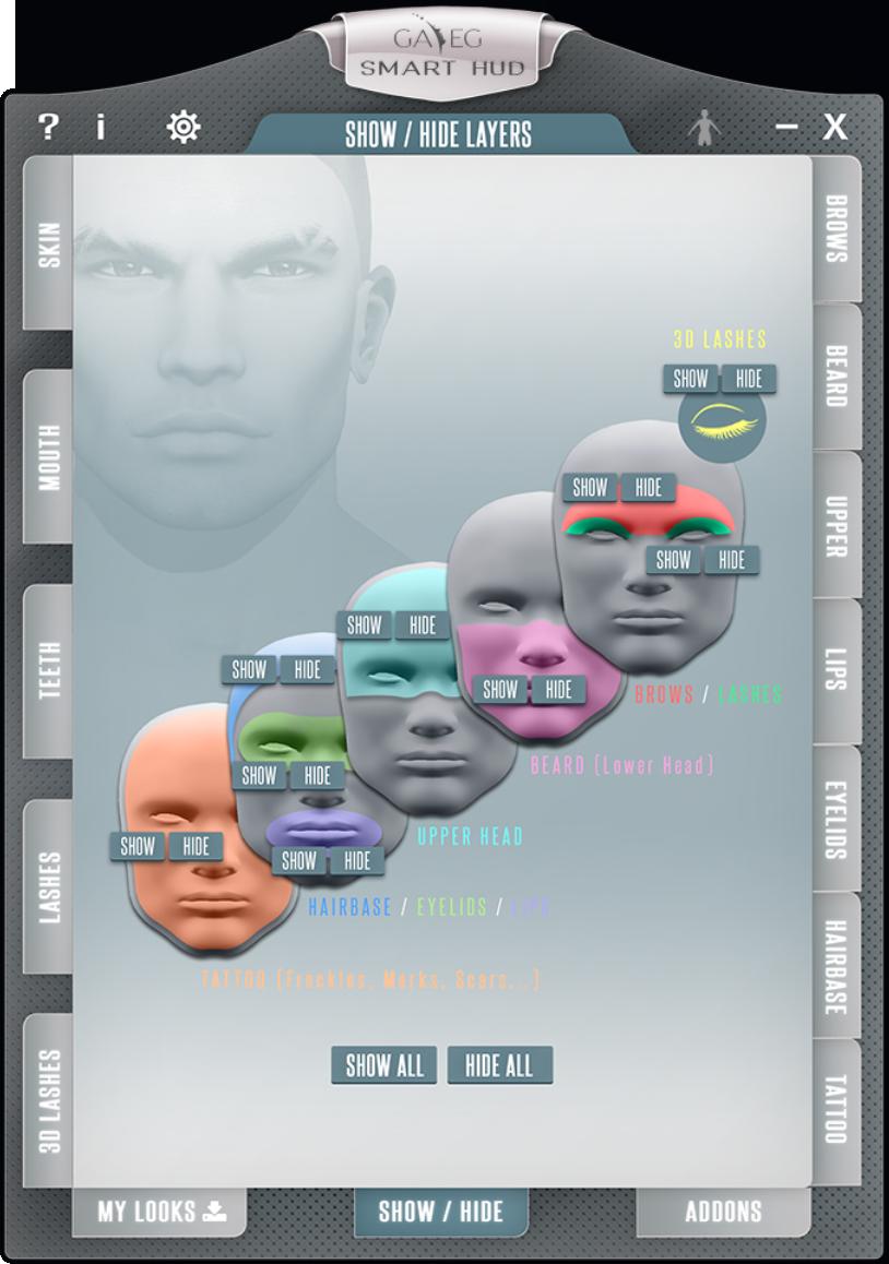 Smart HUD V2 - Show Hide Tab