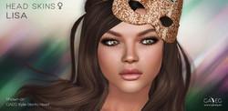 LISA HEAD SKINS