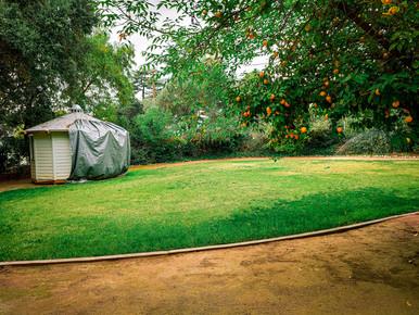 Wedding venue lawn