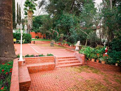 Wedding venue steps