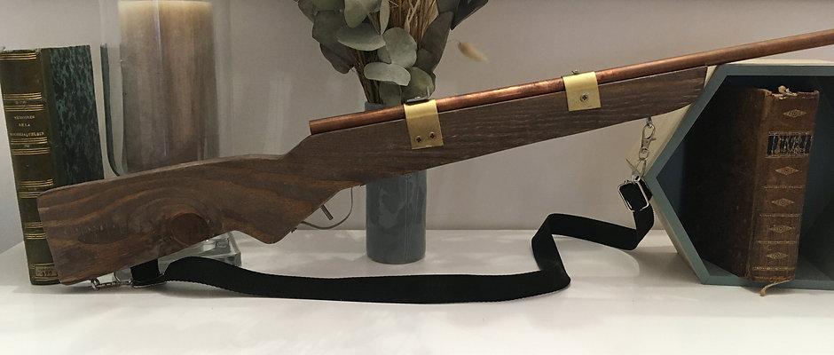 Carabine en bois