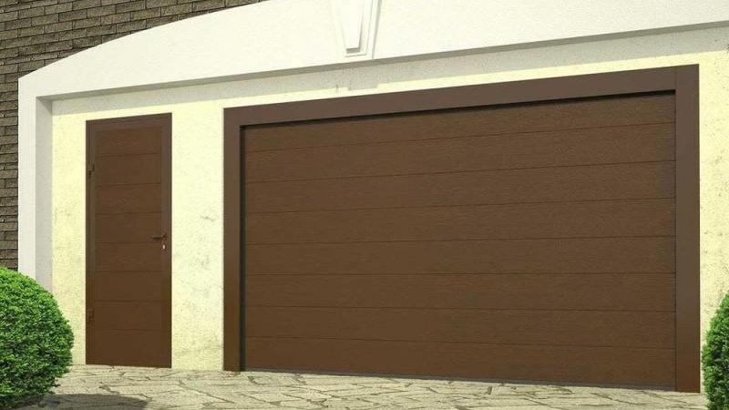 Секционные гаражные ворота Алютех 3000х2250