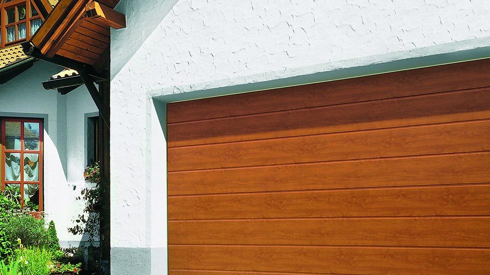 Ворота гаражные секционные Херман 2500х2125