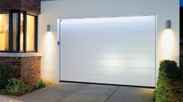 Ворота гаражные секционные Херман 3000х2125 с электроприводом