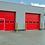 Thumbnail: Промышленные секционные ворота Алютех 4000х4000 мм