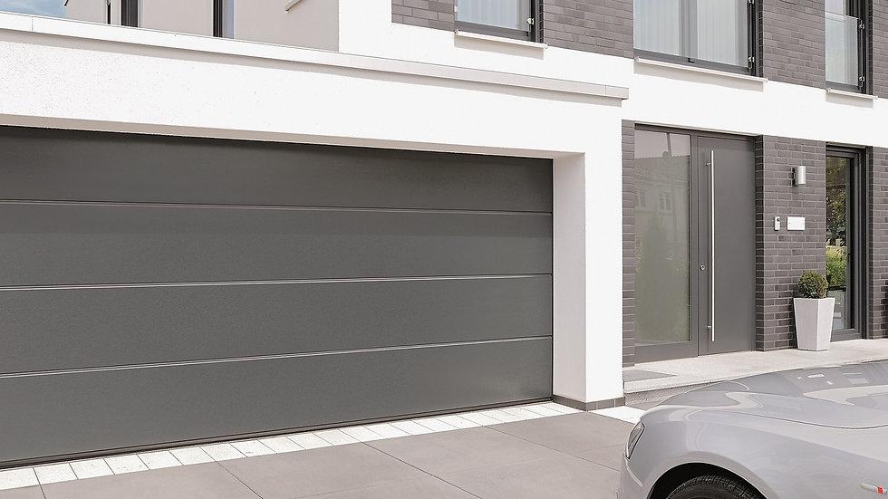 Ворота гаражные секционные Херман 3000х2500 с электроприводом