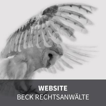 WEBSITE  BECK RECHTSANWÄLTE