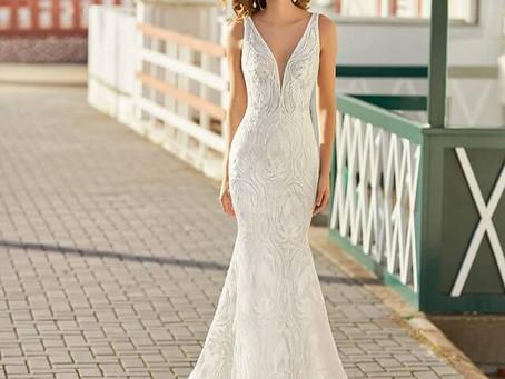 Découvrez la collection 2021 de Rosa Clara  chez Plumetis, boutique de robes de mariée à Toulouse