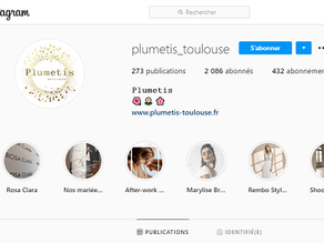 L'instagram de Plumetis