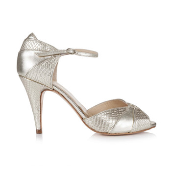 Chaussures Gigi Gold Plumetis Toulouse