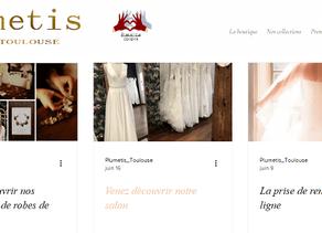 Le blog actus de Plumetis-Robes de mariée à Toulouse