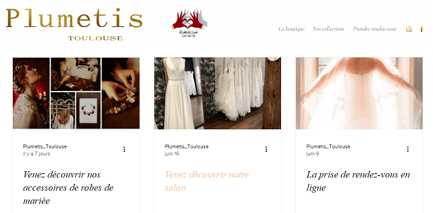 ¨Plumetis, robes de mariée Toulouse | Blog |