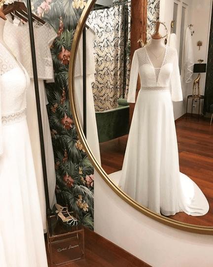 alma by rosa clara plumetis robe de mariée toulouse occitanie