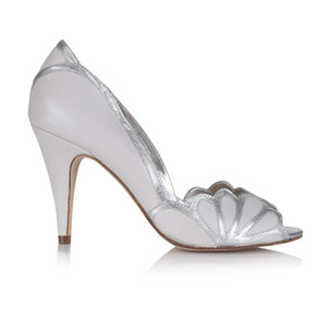 Chaussures Isabelle Porcelain Plumetis Toulouse