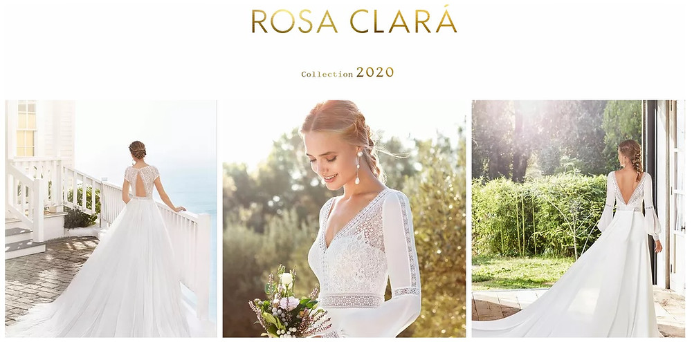 robe de mariée rosa clara collection 2020 wedding toulouse rembo styling marilyse dress champetre save the date boutique