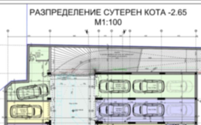 Подземен гараж, 35.53 кв.м., Стара Загора, ново строителство