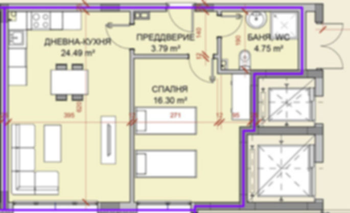 MSL GROUP & Имоти продава двустаен апартамент на топ цена от 23000 евро в Стара Загора