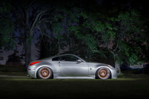 f141-copper-plated-nissan-350z-side _ AG